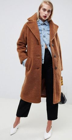BROWN LONG COAT: GET