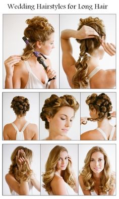 Make A Wedding Hairstyles for Long Hair | hairstyles tutorial