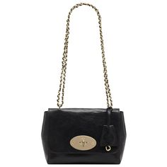 Mulberry: Lily in Black Buffalo Shine... mmm mmmmmmmm $775