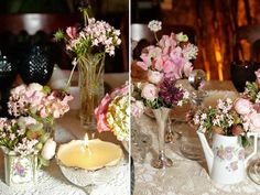 Mini Weddings (sou apaixonada por eles. Casamento sem cara de casamento).     Foto: Blog Constance Zahn