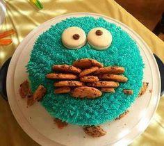 Cute idea for a teens birthday cake!