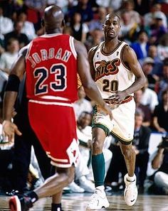 The Sonics' last Finals appearance was in '96 when Gary Payton led Seattle against Chicago. (Getty Images)