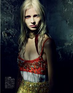 """""""A Mystical Season,"""" by  Paolo Roversi for Vogue Japan March 2014"""