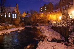 Edinburgh in the Winter