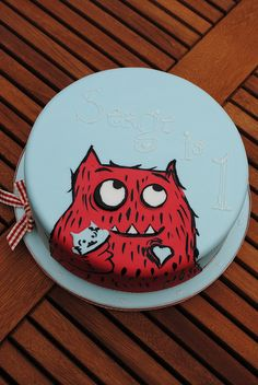 Little boy's favourite book birthday cake! by Bath Baby Cakes, via Flickr