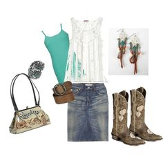Country Day Trip, created by tawn3 on Polyvore
