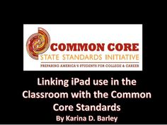 iPads & the Common Core Standards