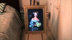 Haunted Ghost Portrait Halloween Prop