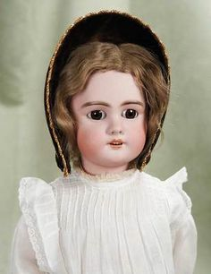 "German bisque child doll ""Dep"""