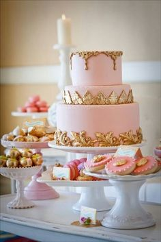 Perfect for an elegant babyshower theme.