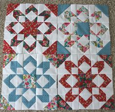 Camille Roskelley's Fireworks quilt pattern