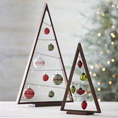 A Frame Ornament Trees $12.48 - $24.98 at #CrateAndBarrel