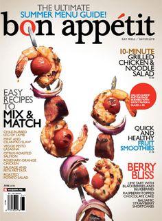 June 2010 Table of Contents - Bon Appétit