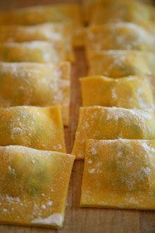 Lemon Ravioli  with Sage Butter
