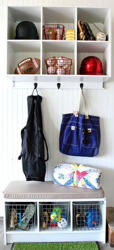 IHeart Organizing: An Organized Sports Station & a Closetmaid GIVEAWAY!