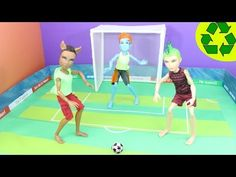 Craft: Make a Doll Soccer Ball and Portable Stadium / Field - EP 743