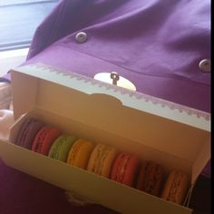 Macaroons and Mulberry.