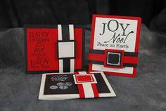 Club Scrap Creates: Santa's Belt Gift Card Holder