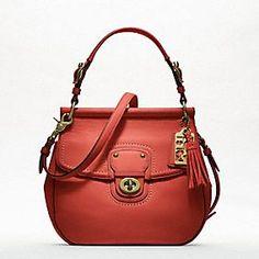 coach leather new willis handbag