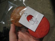 """Macarons from Philly Sugar Truck. Their Motto: """"Heaven rains down sweetness"""". oh yes."""