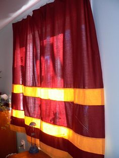 Harry Potter curtains