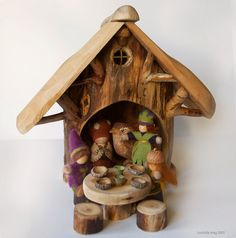 Gathering Lodge for Gnomes and Wee Folk.