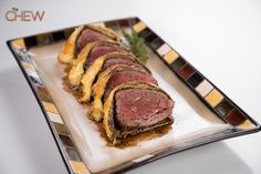 Carla Hall's Beef Wellington recipe #thechew