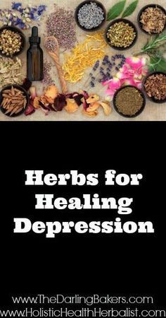 Herbs for healing Depression