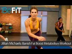 55 minutes-Jillian Michaels: Banish Fat Boost Metabolism Complete Workout