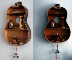 guitar shelf. awesome.