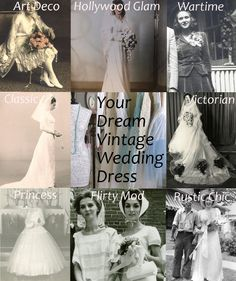 Which vintage style fits your personality? vintag bridesmaid, wedding dressses, weight, vintage weddings, bridesmaid dresses, vintage wedding dresses, wedding dress styles, bride hey, vintage style