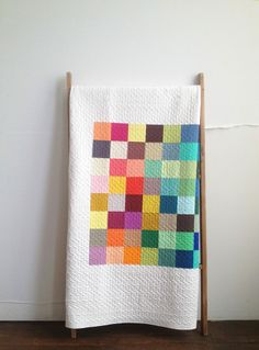 Big Charming quilt by Denyse Schmidt in her new solids
