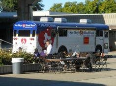 Help support the San Diego Blood Bank Bloodmobile