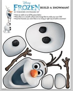 Disney Frozen Build A Snowman Disney's Frozen Fun Tour visits Dallas and Houston this weekend #DisneyFrozen