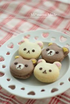 Teddy  Macaron