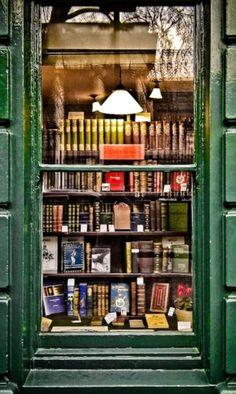 Bookshop Window by Garry Knight