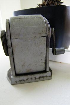 Old Pencil Sharpener