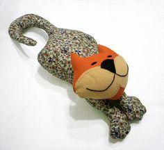 Cat doll  Garfield  Soft cat  stuffed animal  Beige by shusha64.