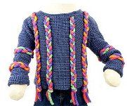 10 free crochet sweater pattern for children