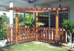 Exotic wooden corner pergola ideas Looking the Best Corner Pergolas to Make Your Yard Look Amazing