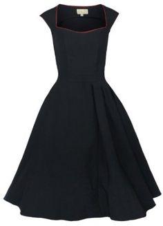 Lindy Bop 'Grace' Vintage 1950's Rockabilly Style Bengaline Swing Party Evening Dress,$46.99
