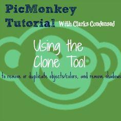 PicMonkey Clone Tool Tutorial
