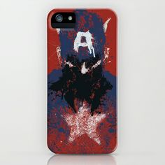 Captain America iPhone Case. Great illustration
