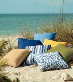 Some of the Summer 2012 cushion collection.