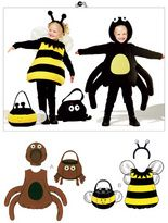 I would love to be able to make these outfits! bumbl bee, costum, treat bags, spider, bumble bees, bag patterns, sewing patterns, halloween, kwik sew