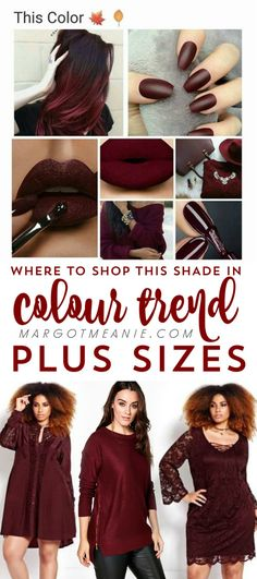 Where to Shop this Colour Trend in Plus Size