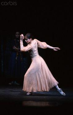 in the royal ballet's 'winter dreams', 1991 ...