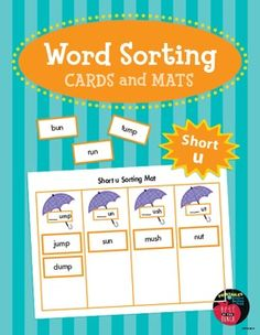 Word Sorting Cards a...