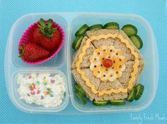 Bento Love: Pinwheel Lunch  Spring Lunch!
