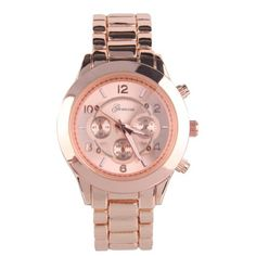 Geneva Platinum 9158 Women's Decorative Chronograph-style Link Oversized Boyfriend Metal Watch Rose Gold Watch Review - At Amazon Products Reviews, the privacy of our visitors is of extreme importance to us (See this article to learn more about Privacy Policies.). This privacy policy document outlines the types of personal information is received and collected by Amazon Products Reviews and how it is used.Log... - http://thequickreview.com/geneva-platinum-9158-womens-decorati